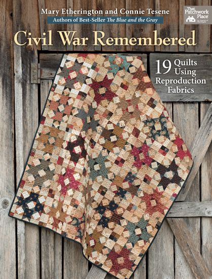 A must-have book for any quilter who loves quilts made with Civil War-era reproduction fabrics.  Go to the Martingale site to see all the color photos. I want to make every project in this book! Quilters who enjoy scrappy quilts will want this book as the patterns can easily be made using solids, batiks, brights...