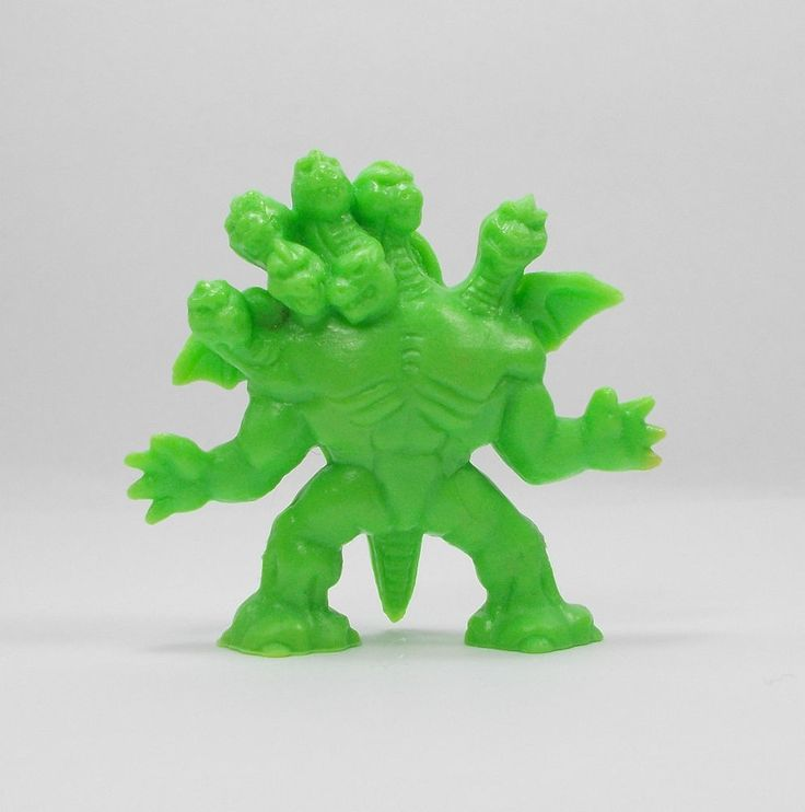 Monster In My Pocket - Series 1 - 1 Great Beast - Neon Green - Mini Toy Figure
