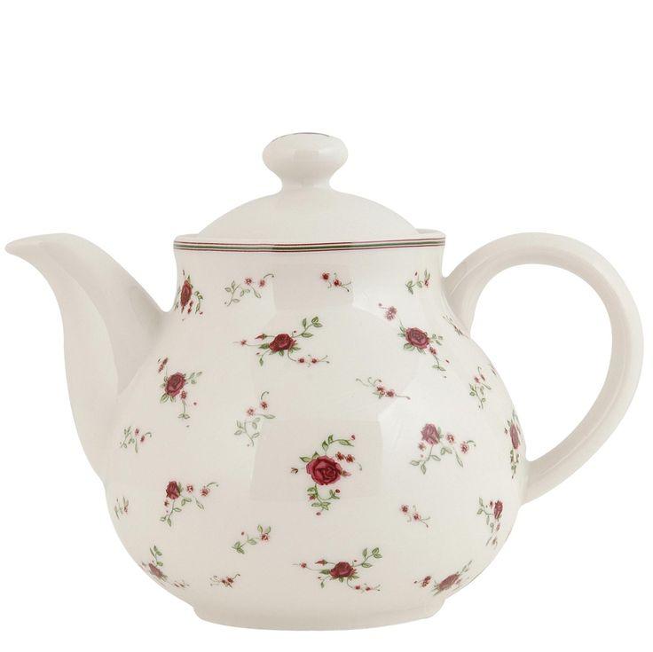 Keramická čajová konvice-La Petite Rose