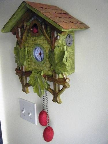 Altered Cuckoo Clock - MISCELLANEOUS TOPICS