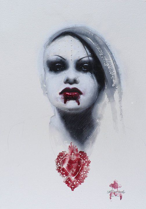 New Portrait by Saturno Butto by zoetica, via Flickr