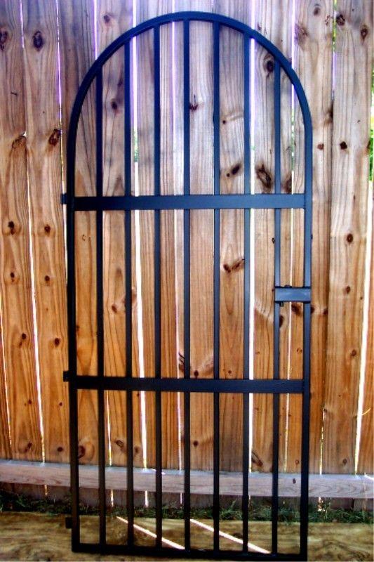 Spanish Style Iron Gate - Many Sizes to choose from - Leos Iron Wine Cellar Doors