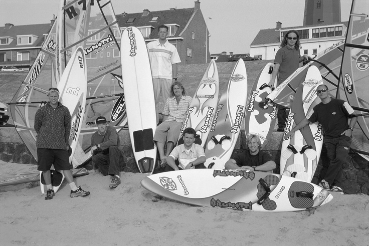 Old team riders of Brunotti