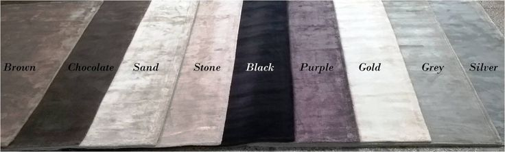 Viscose Tufted Carpet Stock Offer#             : 2255 Color               : Brown, Chocolate, Sand, Stone,Black,Purple, Gold, Grey, Silver,  Size                  :120x180cm 160x230 cm 200x250 cm  153x244cm 200x300cm  Weight            : 4.250kgs per sq. mtr. Quality            : Good Quality  Quantity         :  Total 479 pcs   http://www.textilestock.in/productdetail/4331/Carpets%20%20Rugs-ViscoseTuftedCarpetStock.html