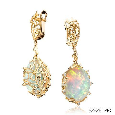 Серьги с Опалом Earrings with Opal  #earrings #moscow #алмаз #москва #опал #красота #бриллиант #мода #любовь #fashion  #серьги #кольцо #jewelry #flowers #ярмарка #цветы #gemstone #exclusive #handmade #эксклюзив #подарок #ювелир #almaz #перстень #diamond #сувенир #галерея #opal #love #cool
