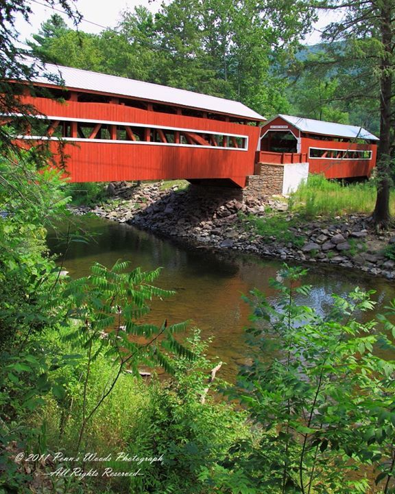 The Twin Bridges in Columbia County, PA