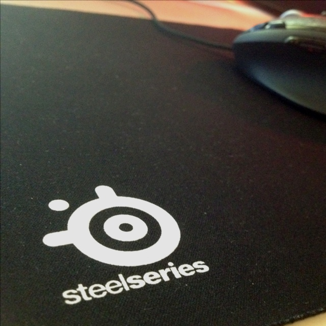 Steelseries QCK mouse mat. Understated, but one of the best pads money can buy. Had it for over 2 years, just wash it and it's good as new!