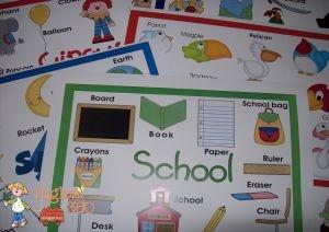 Vocabulary mats-Ingles360