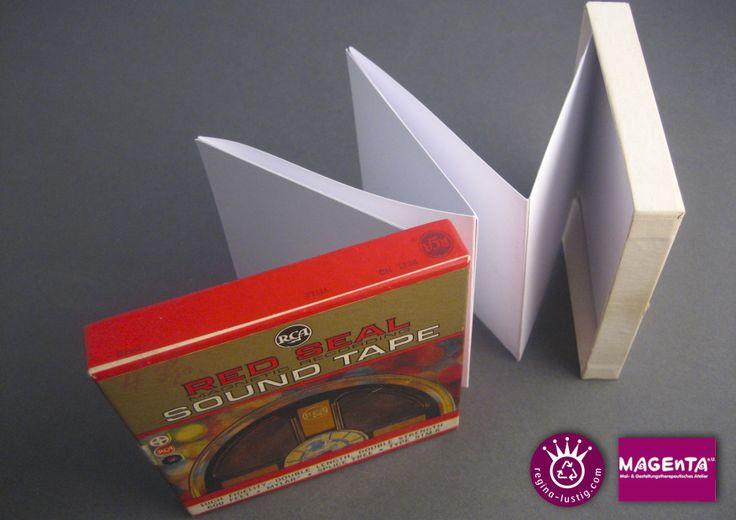 Magnetband-Leporello Recycling