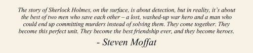Moffat, we have a love hate relationship and this is one of the reasons we love you