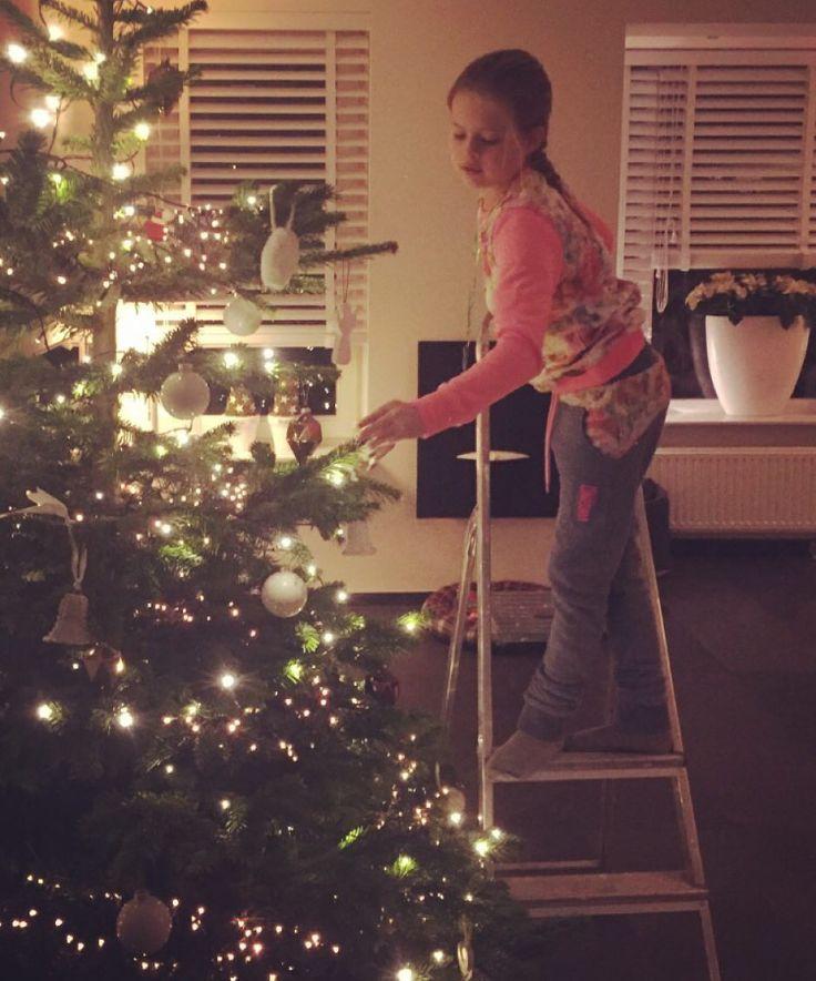 Prepairing for christmas.