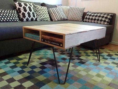 les 26 meilleures images du tableau table palette sur pinterest palette console et mange debout. Black Bedroom Furniture Sets. Home Design Ideas