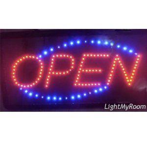 LED OPEN Sign DW-2,$22.99