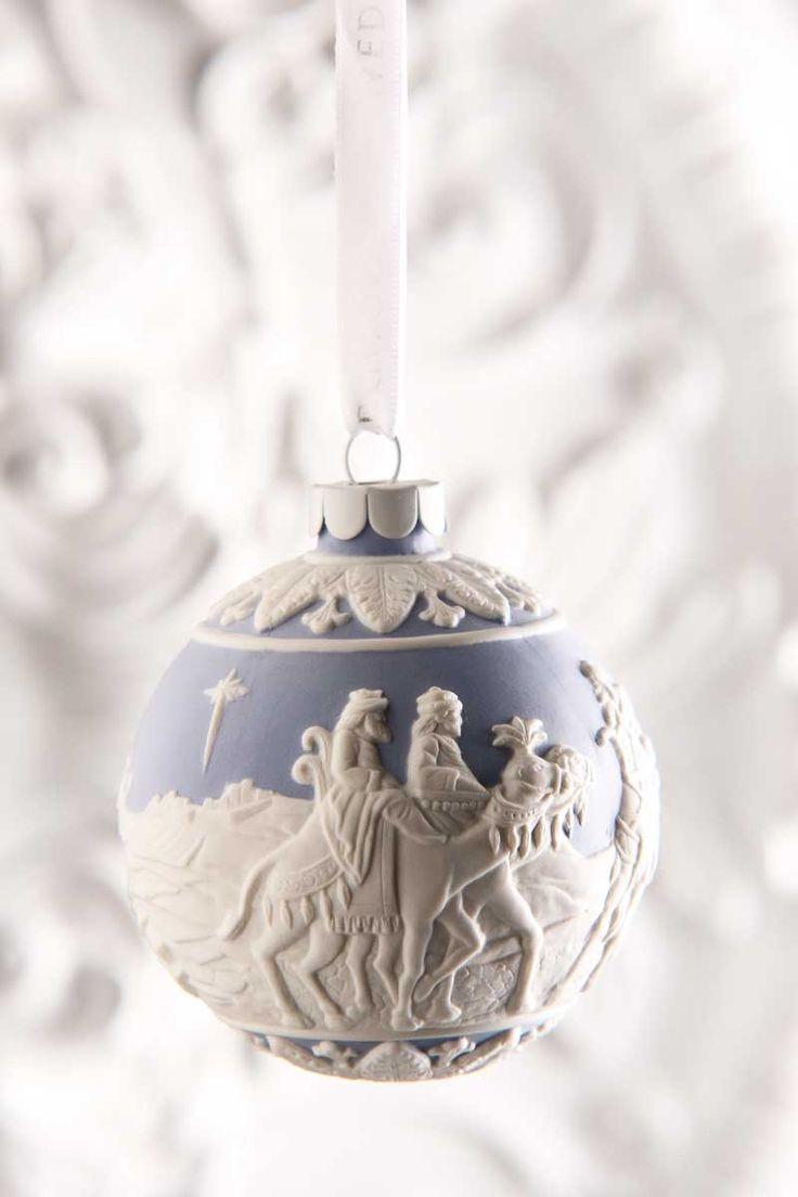 Wedgwood Three Wise Men 2015 Blue Ornament | Christmas ...