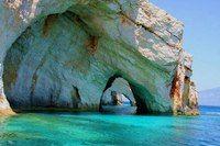 в пещерах Кери, Закинтос, Греция