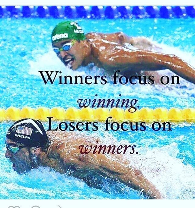 repost #lewishowes #winners #losers   #rioolympics2016 #swimming #michaelphelps #chaddeclos