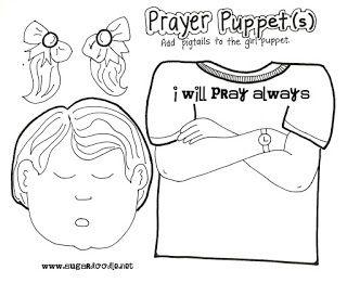 Prayer (2): Prayer Puppets, Prayer Train & Daniel in the