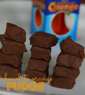 Chocolate Orange Fudge Recipe