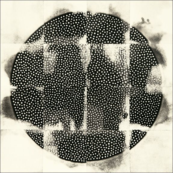 eunice kim collagraph, 12x12 - lovely work!