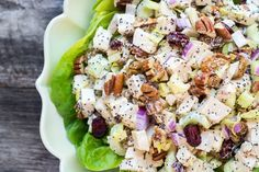 3 saladas para o verão: salada de frango com maionese de chia