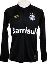 Camisa de Goleiro Grêmio 2015 Umbro Preta http://maniadefutebol.com.br/produto.asp?codProd=6014&codCat=610
