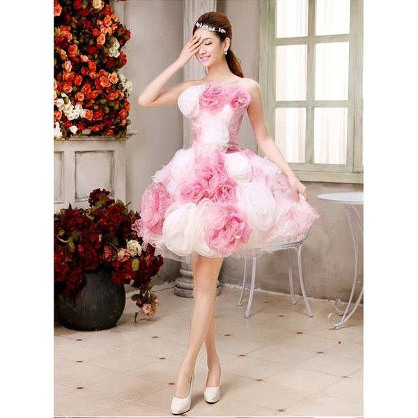 ビスチェ ピンク。ピンクのミニ スカート ウェディングドレス・カラードレス・花嫁衣装のまとめ一覧♡
