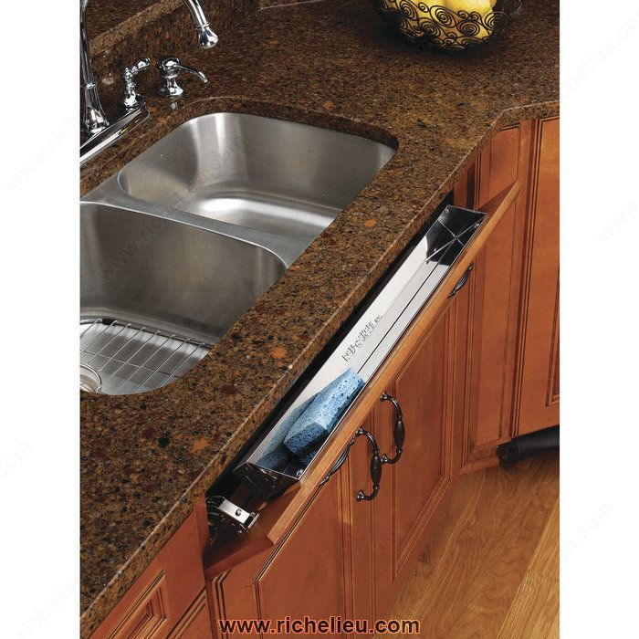 Stainless Steel Baskets with Soft-Close - 658131SC52 - Richelieu Hardware