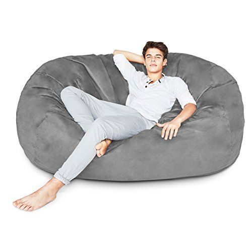 The Lumaland Luxury Bean Bag Chair Is A Real Big Size Sofa 6
