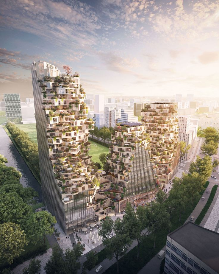 OVG and MVRDV Win Competition in Zuidas Business District - OVG