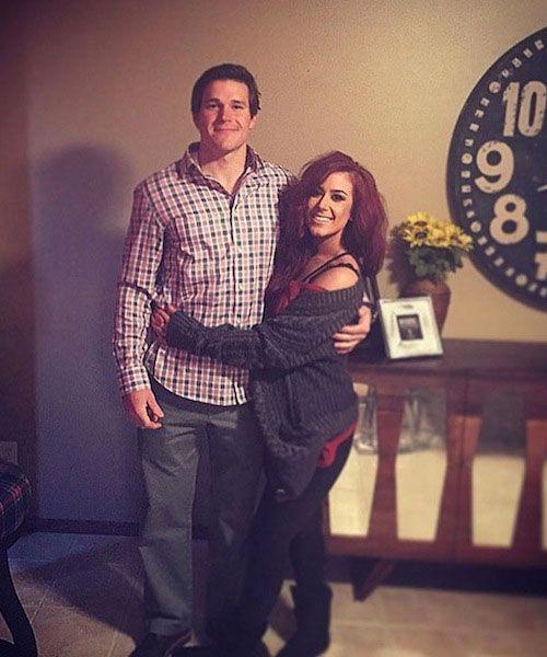 Teen Mom, Chelsea Houska and her boyfriend Cole DeBoer...