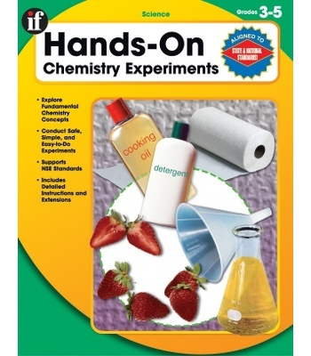 Hands-On Chemistry Experiments Resource Book - Carson Dellosa Publishing Education Supplies