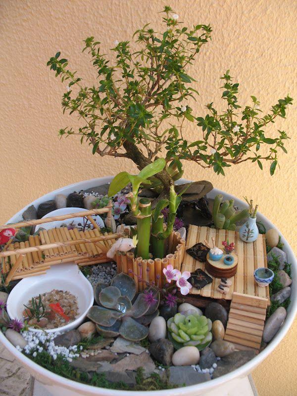 mini jardim oriental : mini jardim oriental:1000 ideias sobre Casas Com Jardim De Fadas no Pinterest