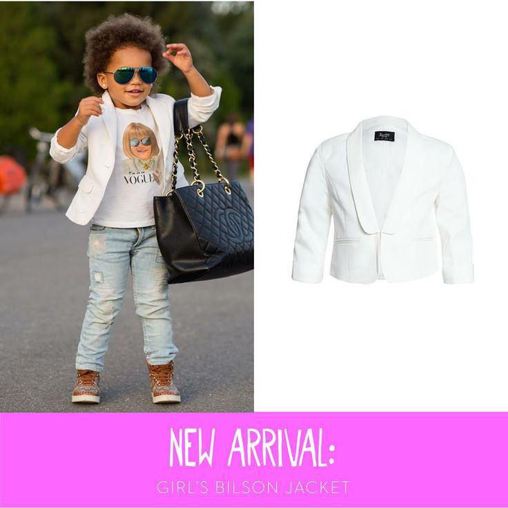This blazer by Bardot kids is the cutest + in trend for colour this summer#kidsfashion #stylishkids