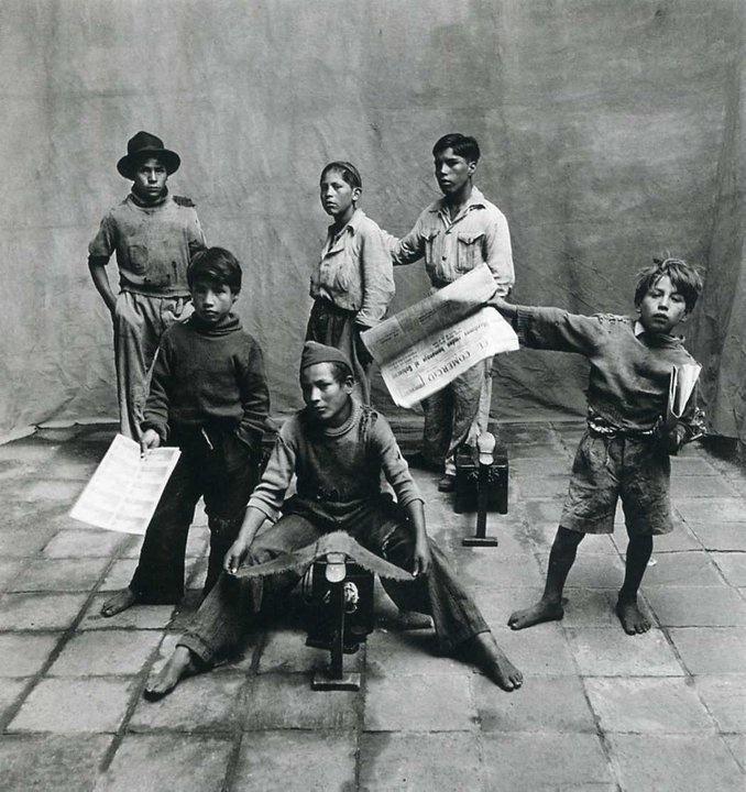±: Photos, Photographer Irving Penn, 1948, Cuzco, Street Boys, Photography, Black, American Photographers