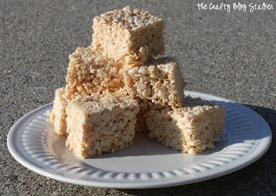 I love Rice Crispy Treats! I think they are a great snack. Super easy to make and taste AMAZING!! That is if they are made right. I guess you could call me a Rice Crispy Treat snob. I don't like them when they are really dry and rock hard but I also don't like them [...]