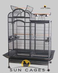 Combo - Un diseño original que combina dos tipos de jaula en una. Para uno o varios loros juntos o separados.
