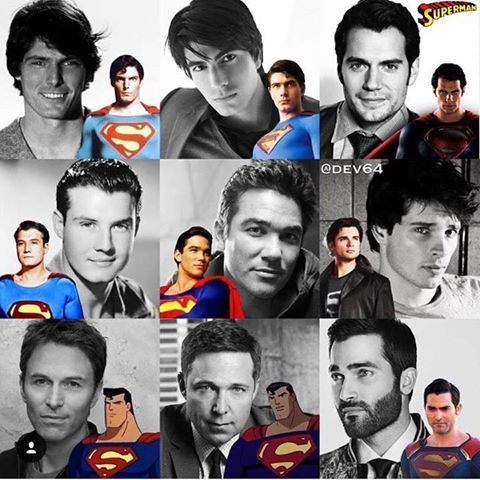Superman - past and present