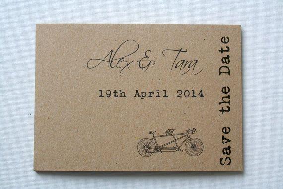 Guardar las postales de fecha / / respetuoso por PaperPapelPapier