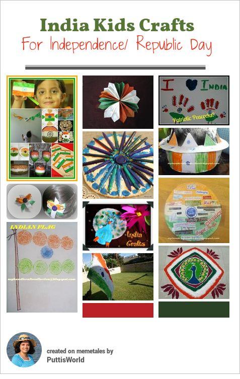 India Day Kids Crafts ~ Putti's World