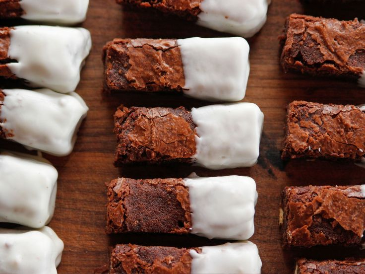 Black and White Brownies recipe from Ree Drummond via Food Network