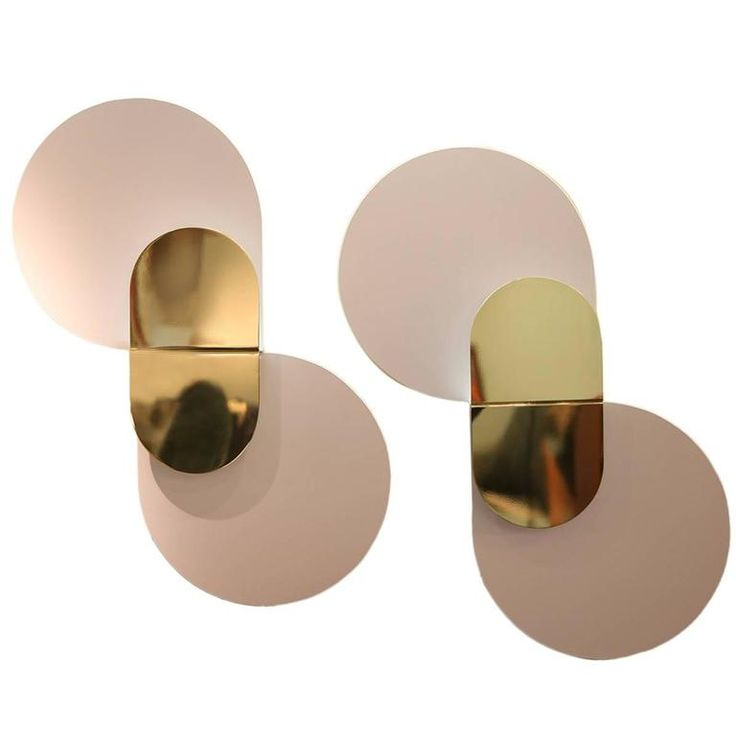Pair of Wall Lights by Giannino Crippa for Lumi Milano, 1970 | From a unique collection of antique and modern wall lights and sconces at https://www.1stdibs.com/furniture/lighting/sconces-wall-lights/