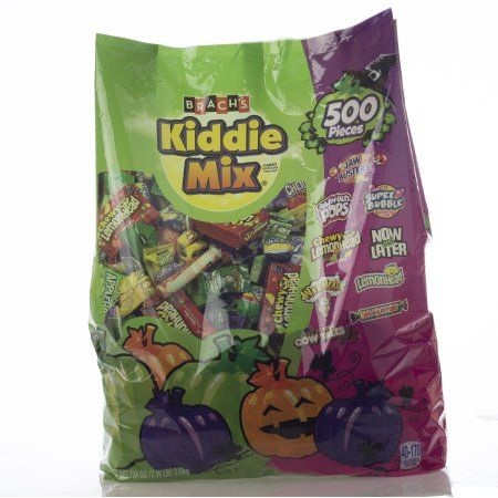 New to our candy aisle this year is a Brach's 500-Piece Kiddie Bag candy mix – which is the largest under-$20 candy bag in history and is a Walmart exclusive developed with the Ferrara Candy Company (available for $19.58, 7.75lbs.).