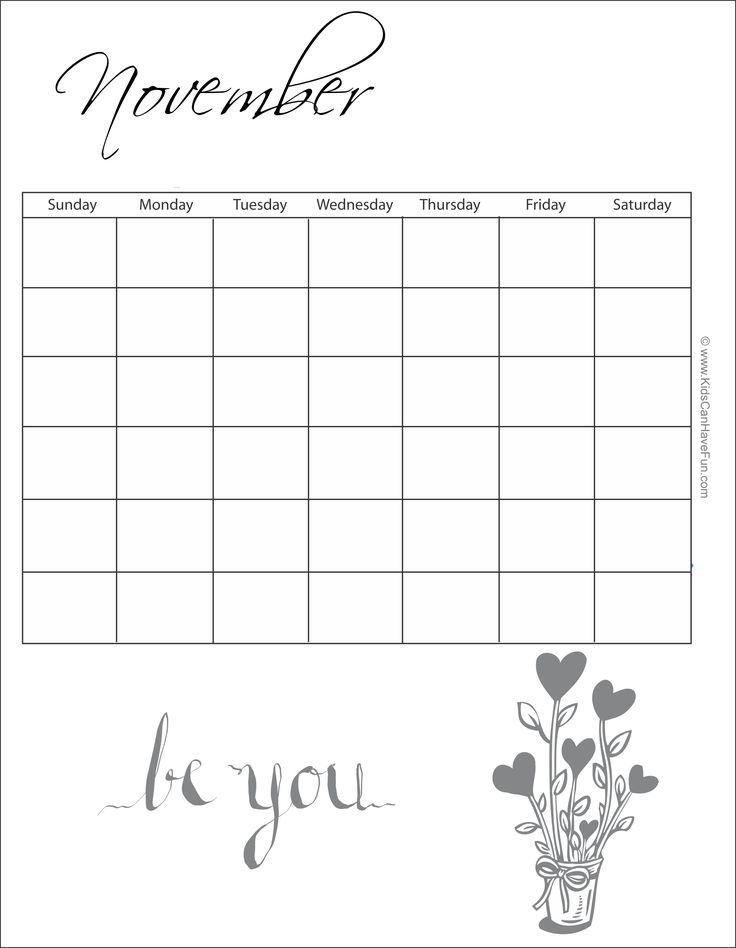 24 best Printable Calendars, Monthly, Calendar Template, Coloring - monthly calendar