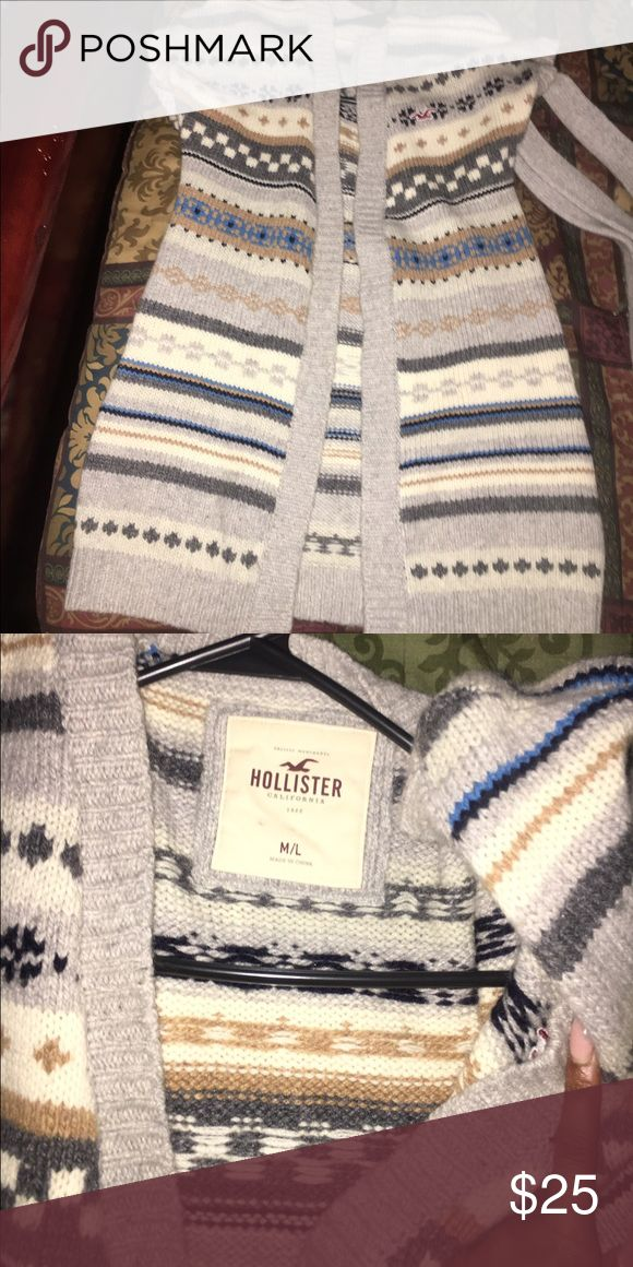 Hollister cardigan Tribal hollister cardigan never worn Hollister Jackets & Coats