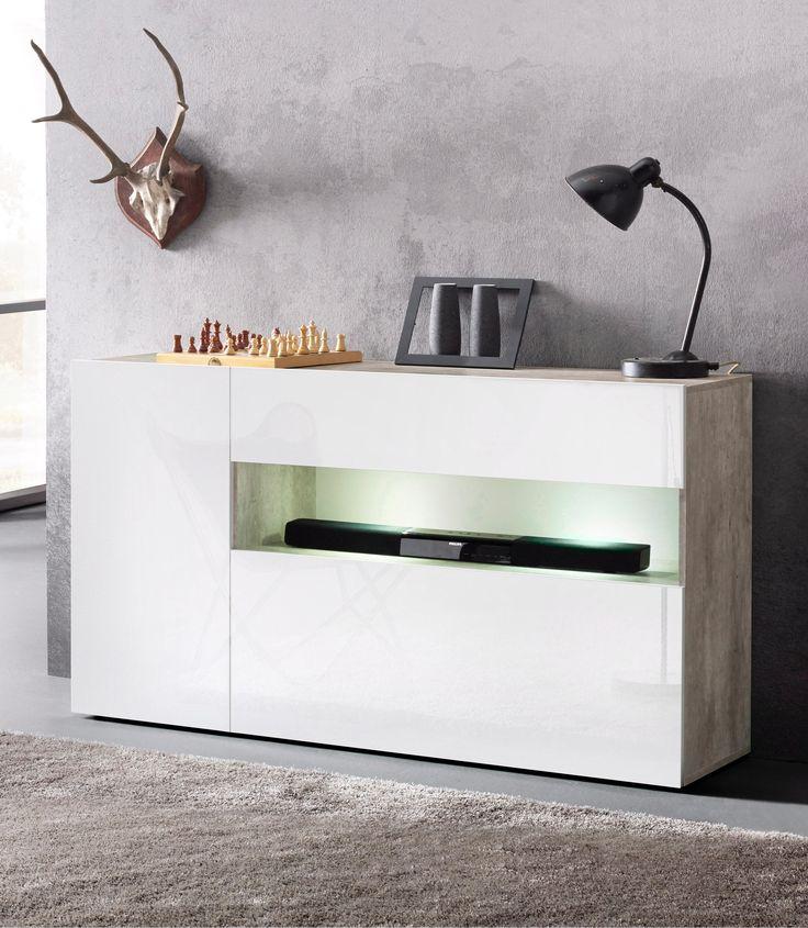 25+ best ideas about sideboard grau on pinterest | tv wand weiß ...