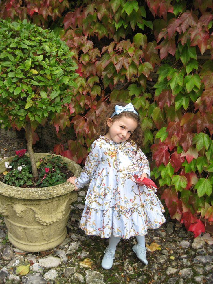 Bebe in her Jottum Rembrandt dress