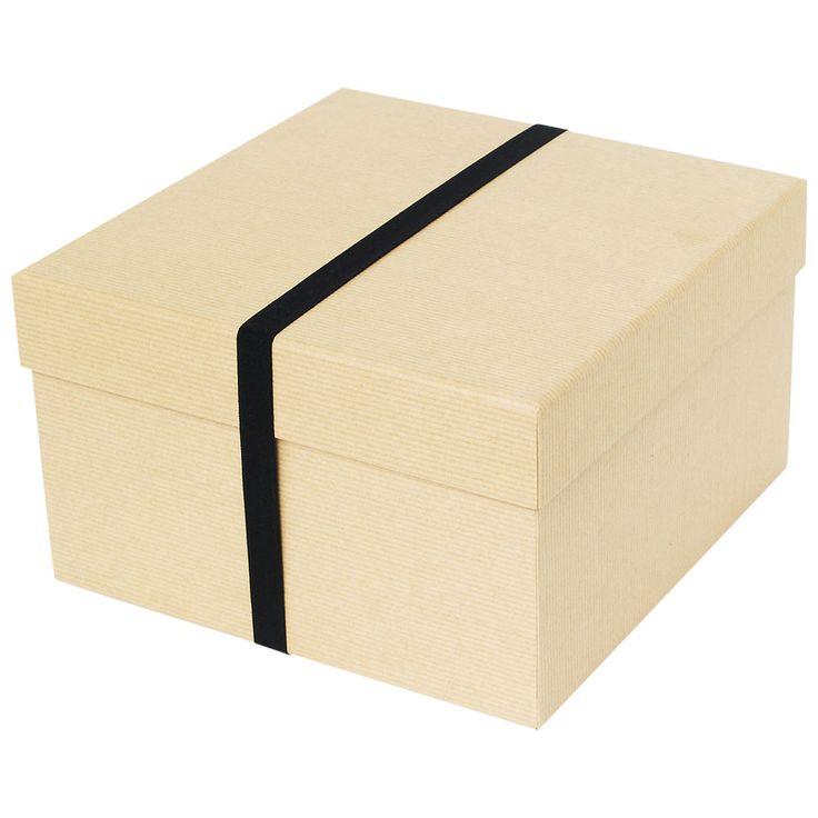 recycled kraft large gift box