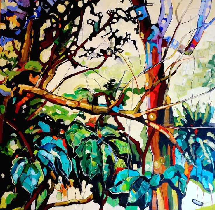 MAOKONG 100x100cm, oil on canvas