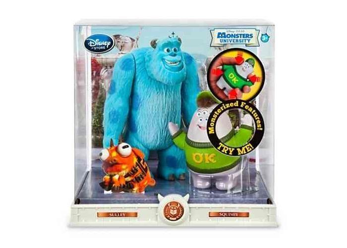 Figuras articuladas Sulley & Squishy Monsters University