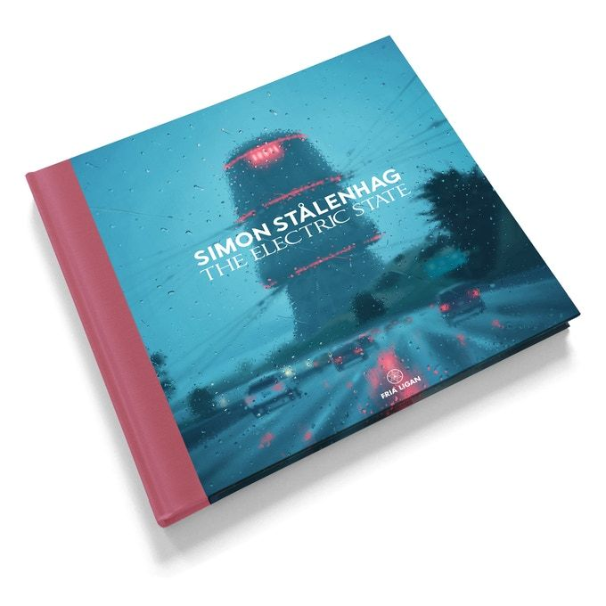 From acclaimed artist Simon Stålenhag comes a new narrative artbook about a girl and her robot traveling west in an alternate 90s USA.